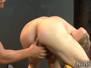 Awesome Cock Has Assfucked At Sports Hall