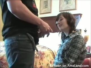 Chick is fucked by fellow