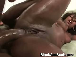 Big Booty Black Sluts Anal Smashed In A Threesome